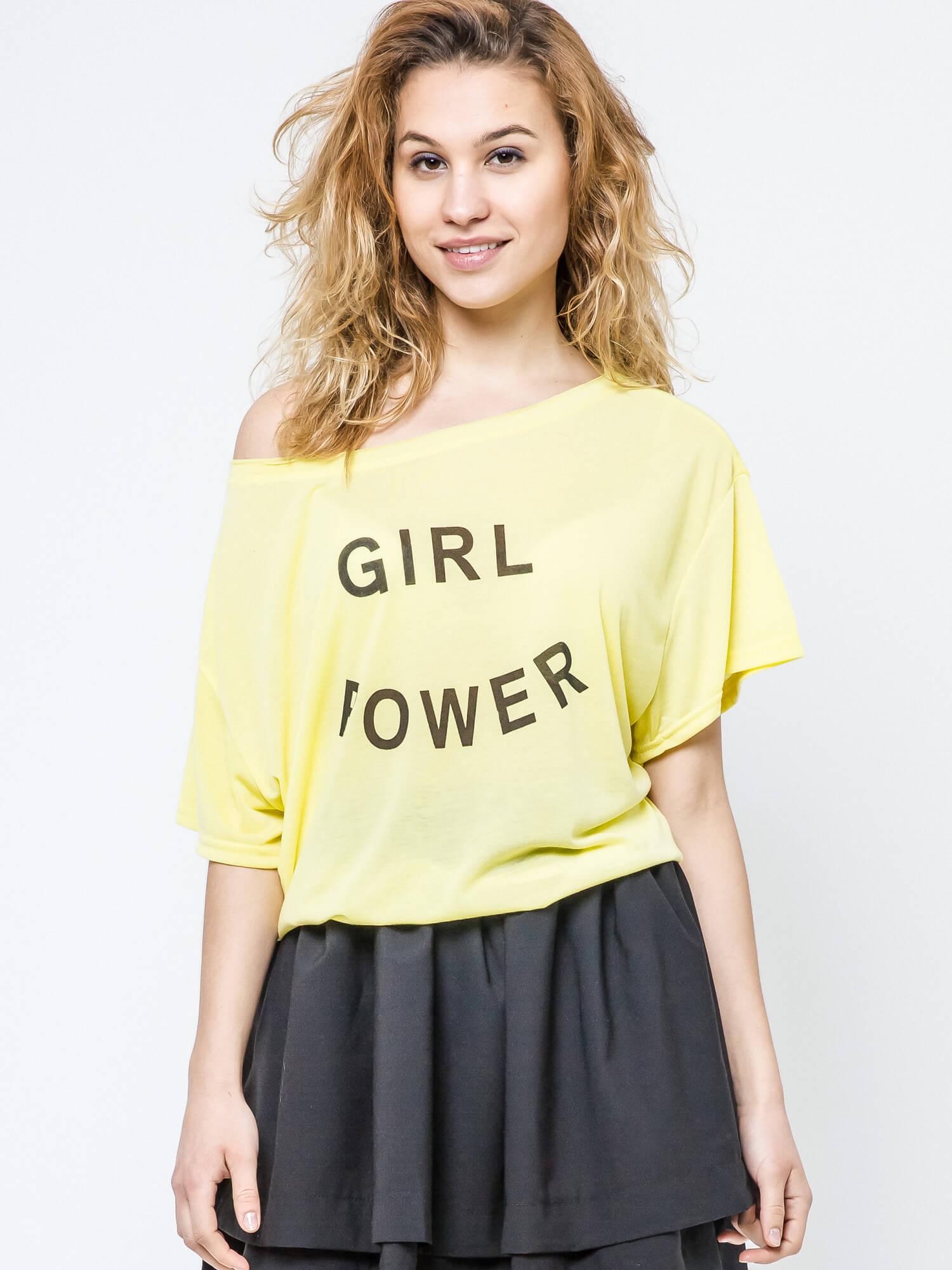 bluzka girl power
